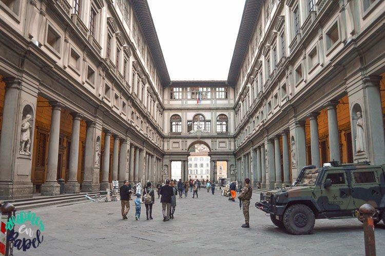 Qué ver y hacer en Florencia en 3 días: Galería Uffizi