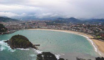 mone Igueldo y la Playa de la Concha, San Sebastián