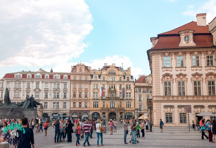 Plaza Staré Město - Qué ver en Praga en 3 días