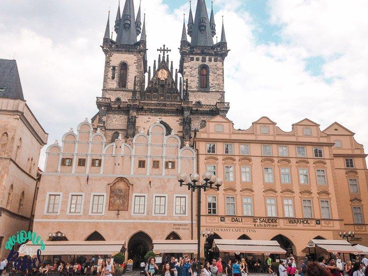 Qué ver en Praga en 3 días - Iglesia de Nuestra Señora de Tyn