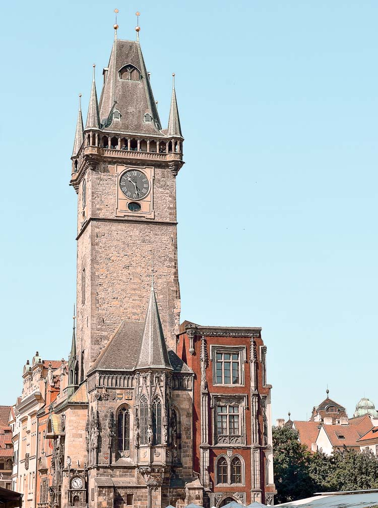 Ayuntamiento de la Ciudad Vieja en Praga