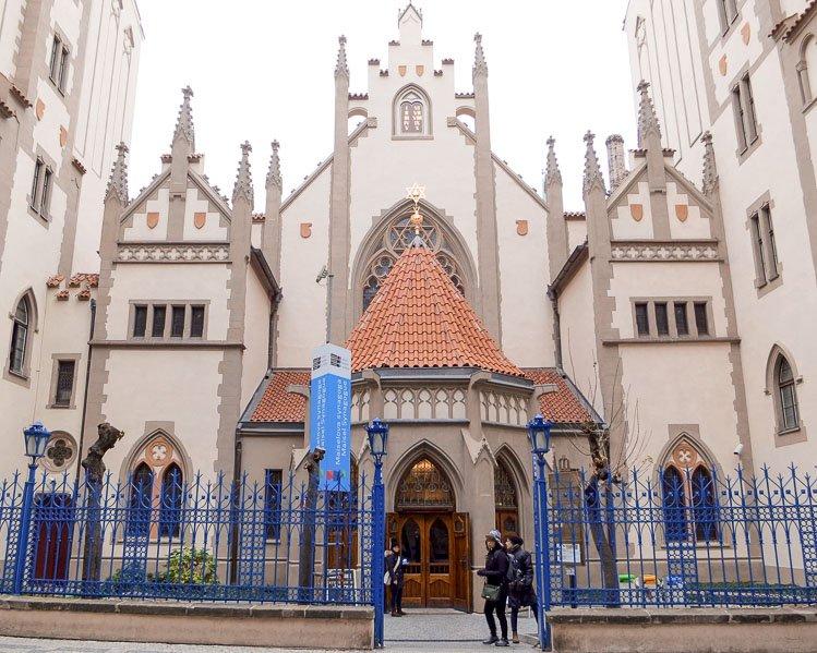 Maiselova Synagoga en el barrio judío de Praga