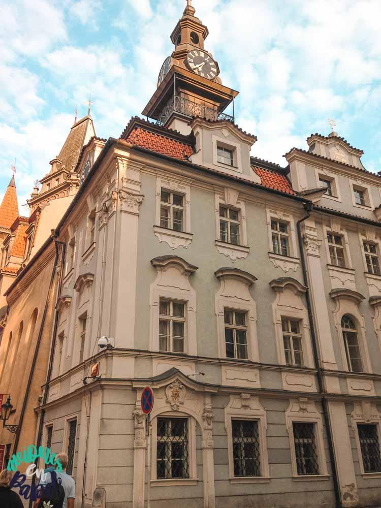 Ayuntamiento de Josefov, el barrio judío de Praga