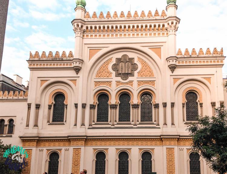 Sinagoga Española en Josefov, el barrio judío de Praga