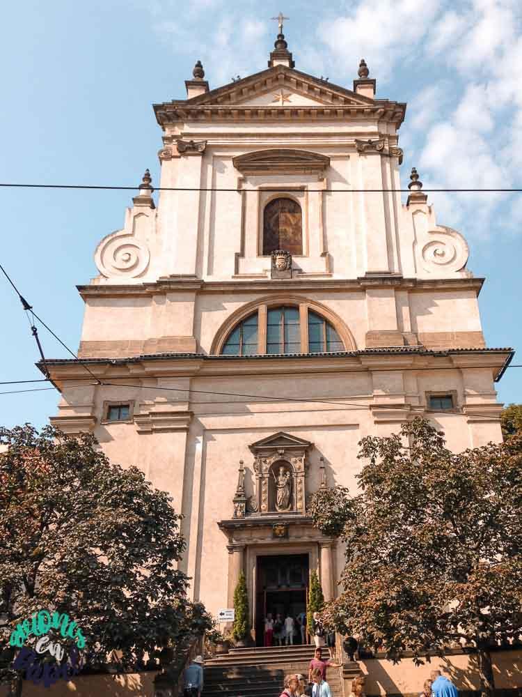 Iglesia de Nuestra Señora de la Victoria en Malá Strana, Praga