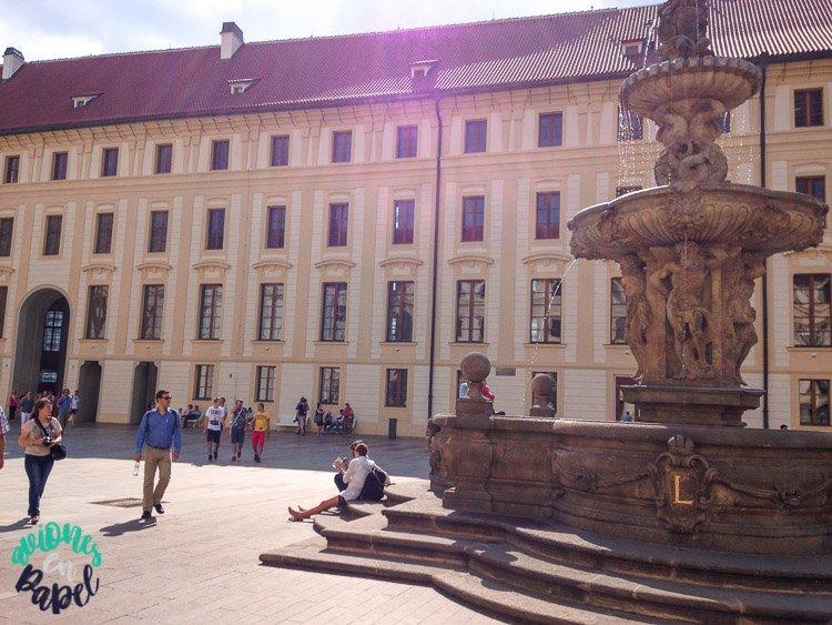Fuente de Kohlen el Castillo de Praga