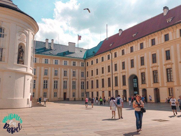 Capilla de la Santa Cruz en el Castillo de Praga