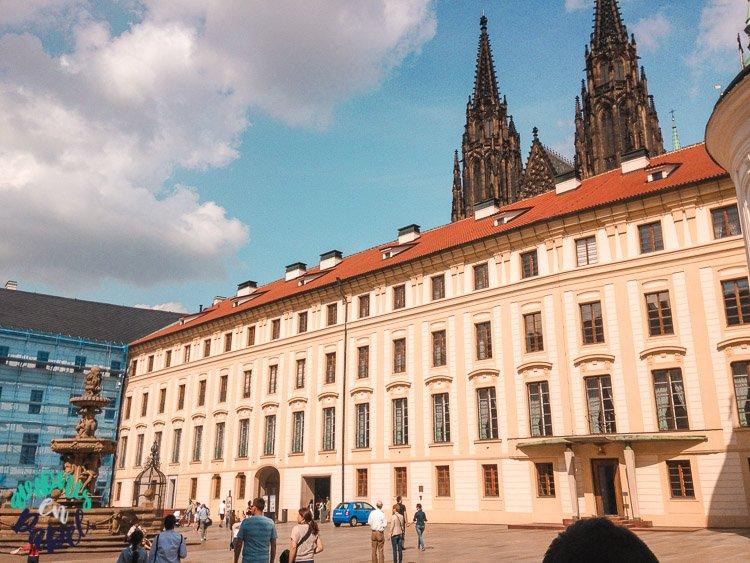 Nuevo Palacio Real en el Castillo de Praga
