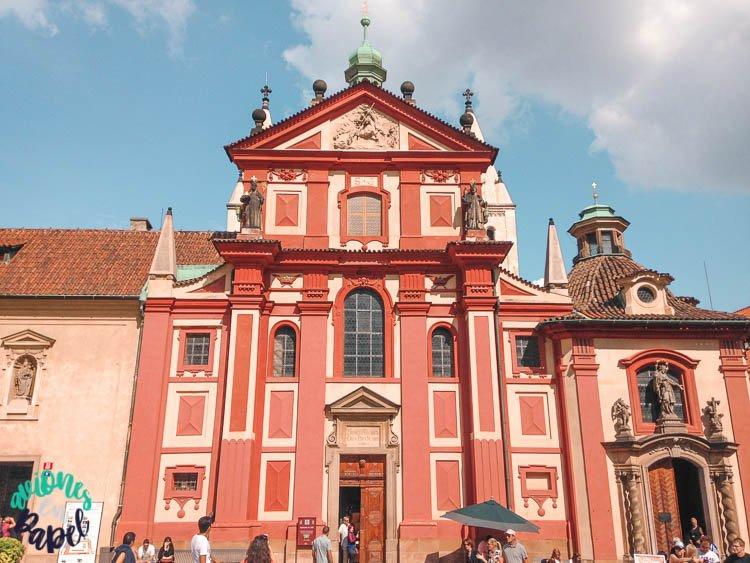 Basílica y Monasterio de San Jorge, Praga