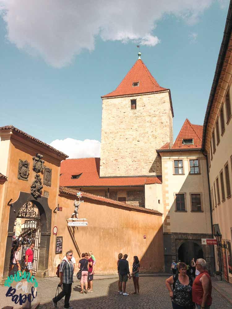 Torre Negro en el Castillo de Praga