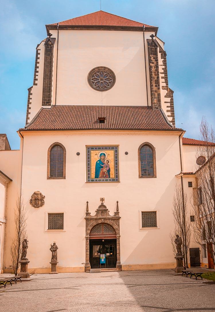 Iglesia Nuestra Señora de las Nieves, Praga