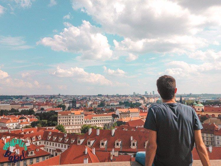 Mirador del Castillo - Qué ver en Praga en 3 días