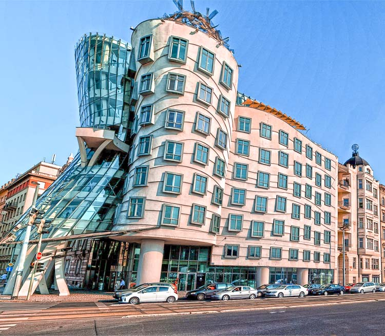 Qué ver en Praga en 3 días: Casa Danzante