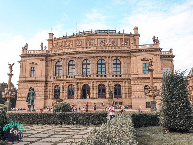 Qué ver en Praga en 3 días: Rudolfinum