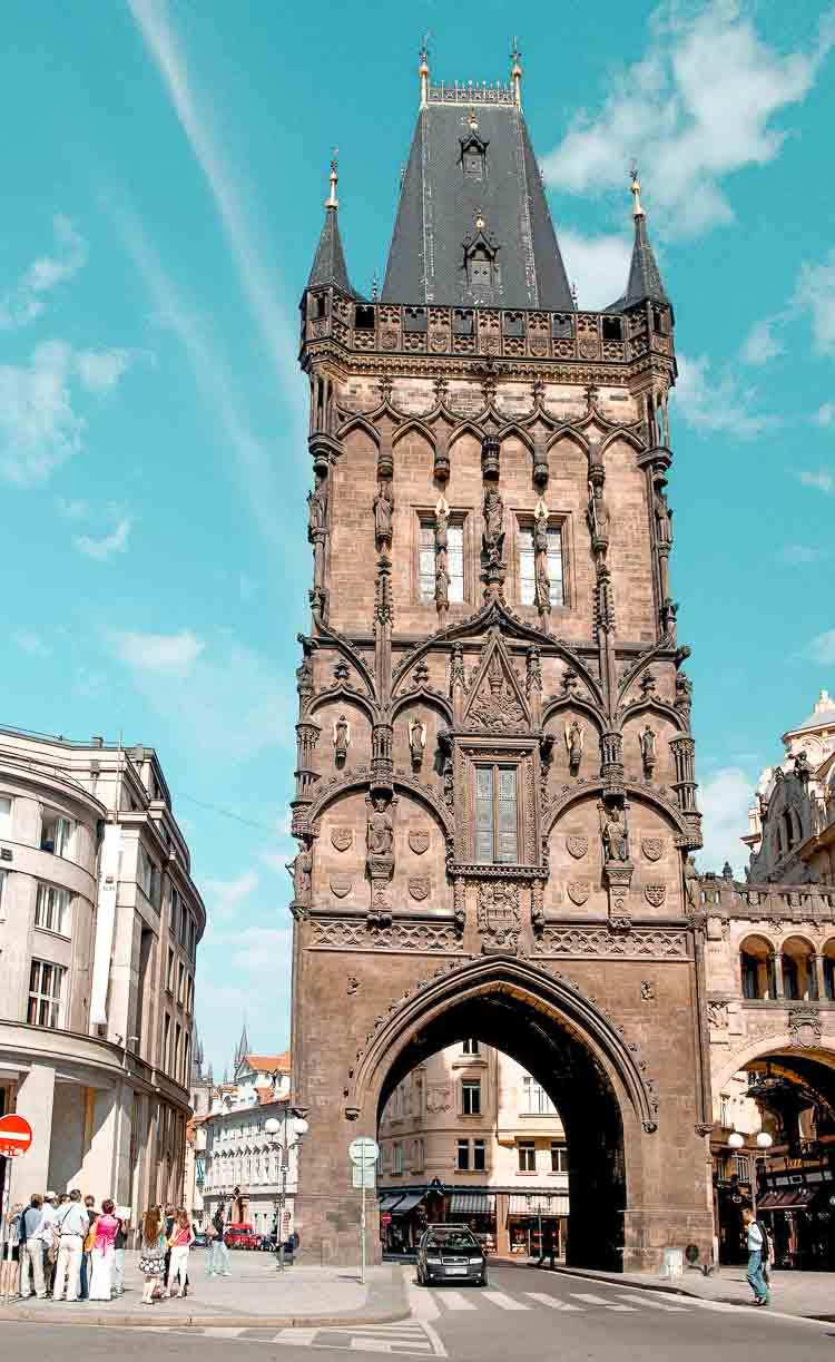 Que ver en Praga en 3 días: Torre de la Pólvora