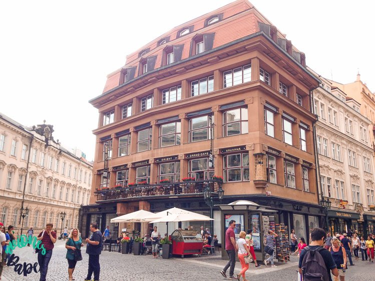 Casa de la Virgen Negra en Praga