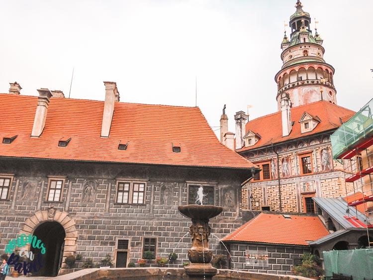 Castillo Pequeño en Cesky Krumlov