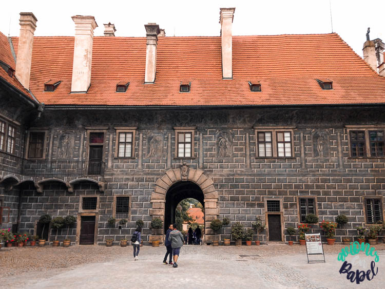 Lapidario del Castillo en Cesky Krumlov