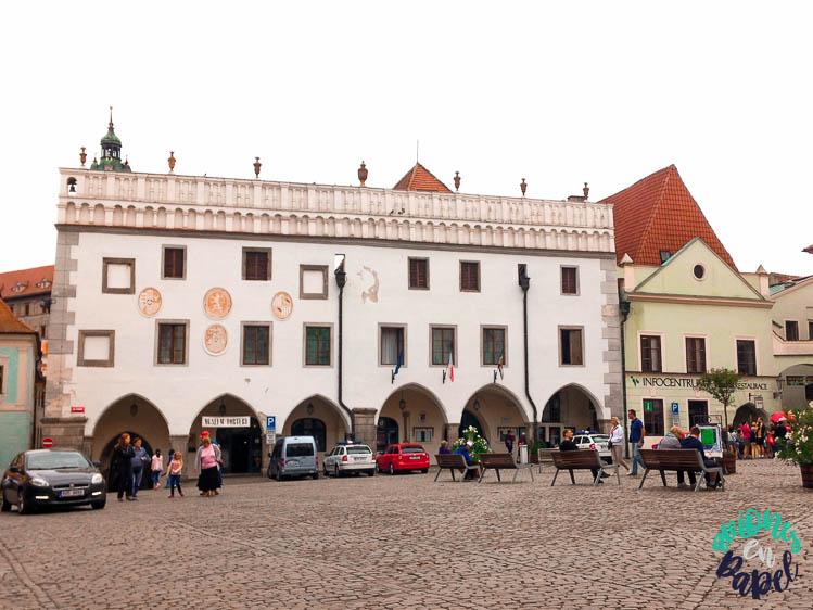 Radnice (Ayuntamiento) de Cesky Krumlov