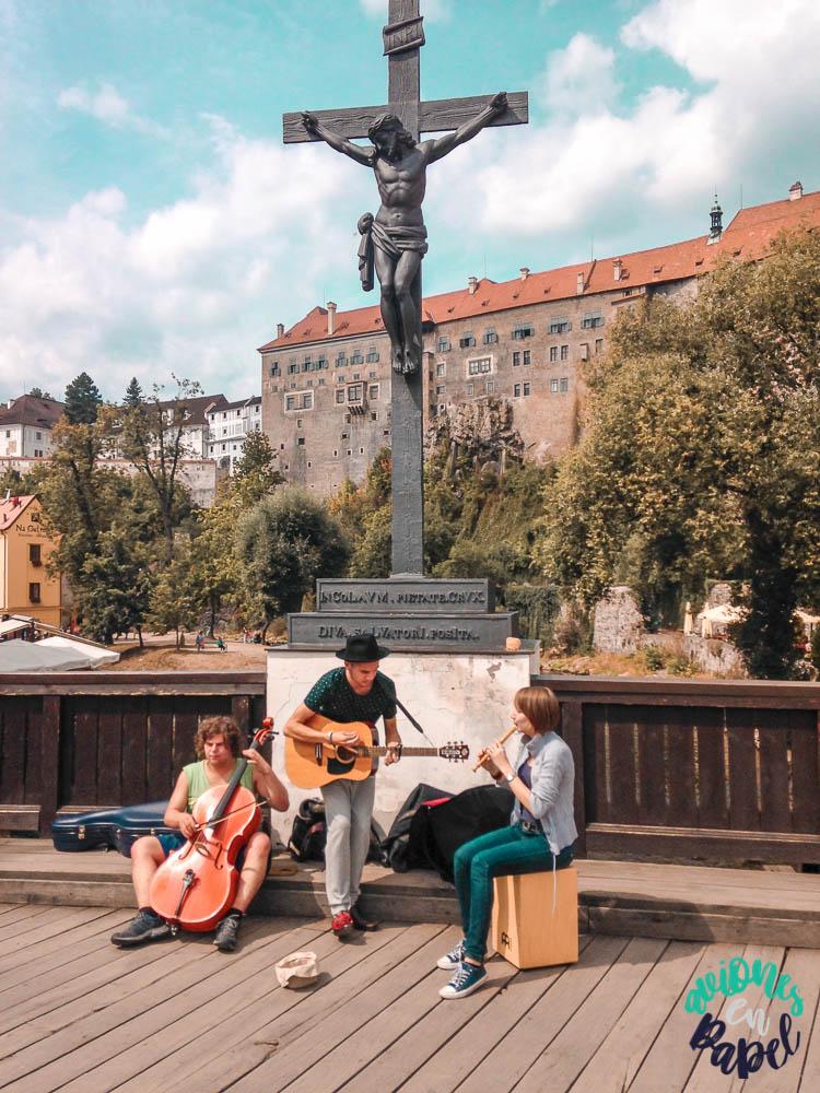 Qué ver y hacer en Cesky Krumlov en 1 o 2 días: Lazebnický most