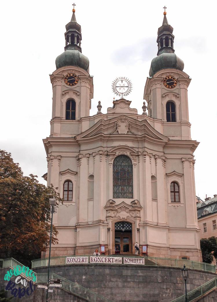 Iglesia de Santa María Magdalena, Karlovy Vary