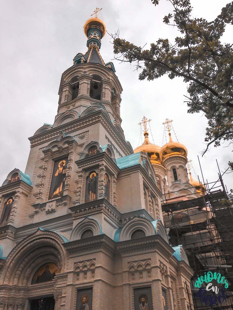 Iglesia Ortodoxa de San Pedro y San Carlos en Karlovy Vary