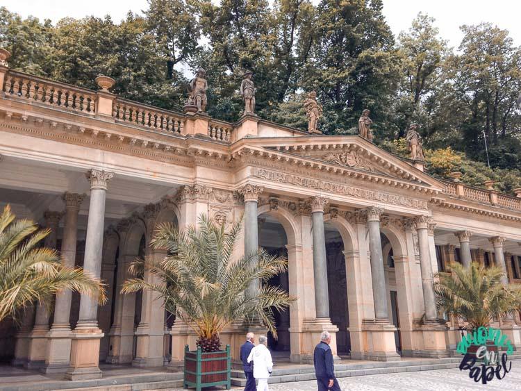 Columnata del Molino en Karlovy Vary