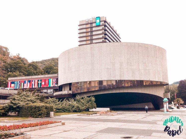 Hotel Thermal. Festival de Cine Internacional de Karlovy Vary