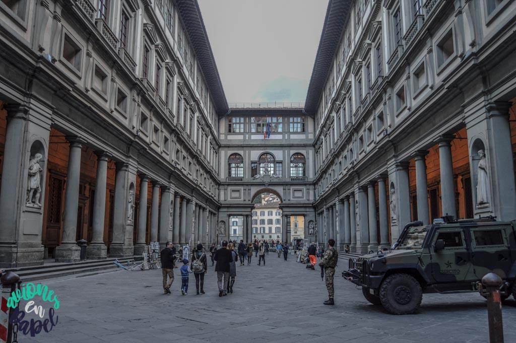 Galería Uffizi. Qué ver y hacer en Florencia en 3 días