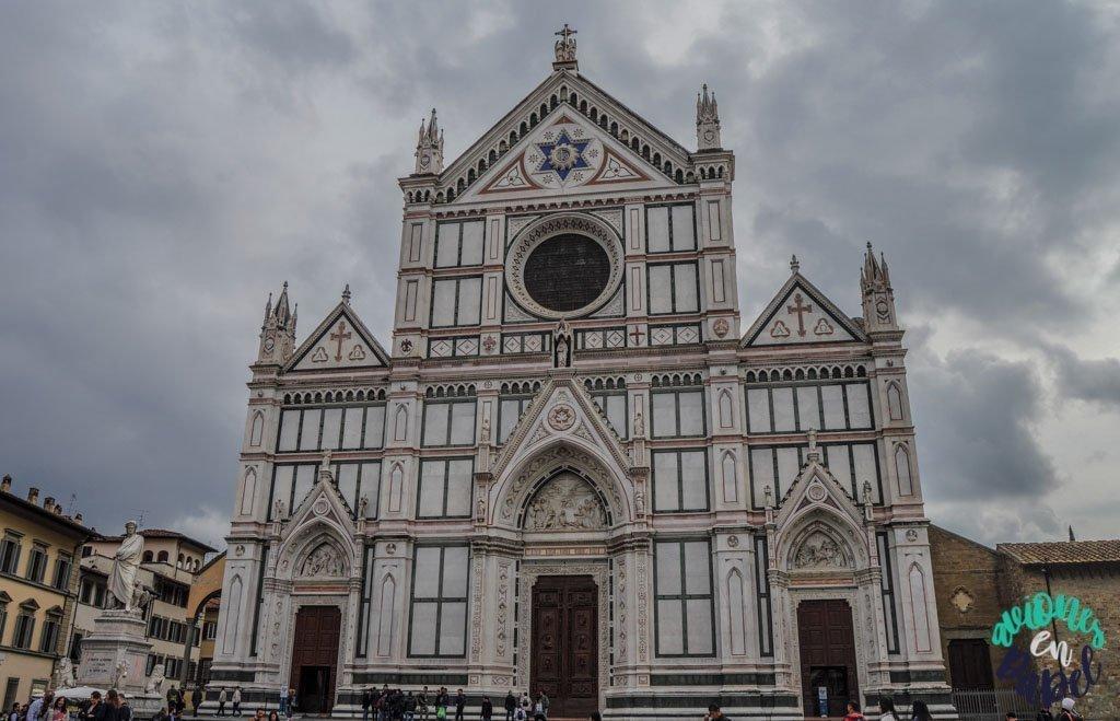 Iglesia di Santa Croce. Qué ver y hacer en Florencia en 3 días