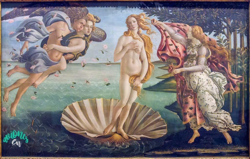 El Nacimiento de Venus. Qué ver y hacer en Florencia en 3 días