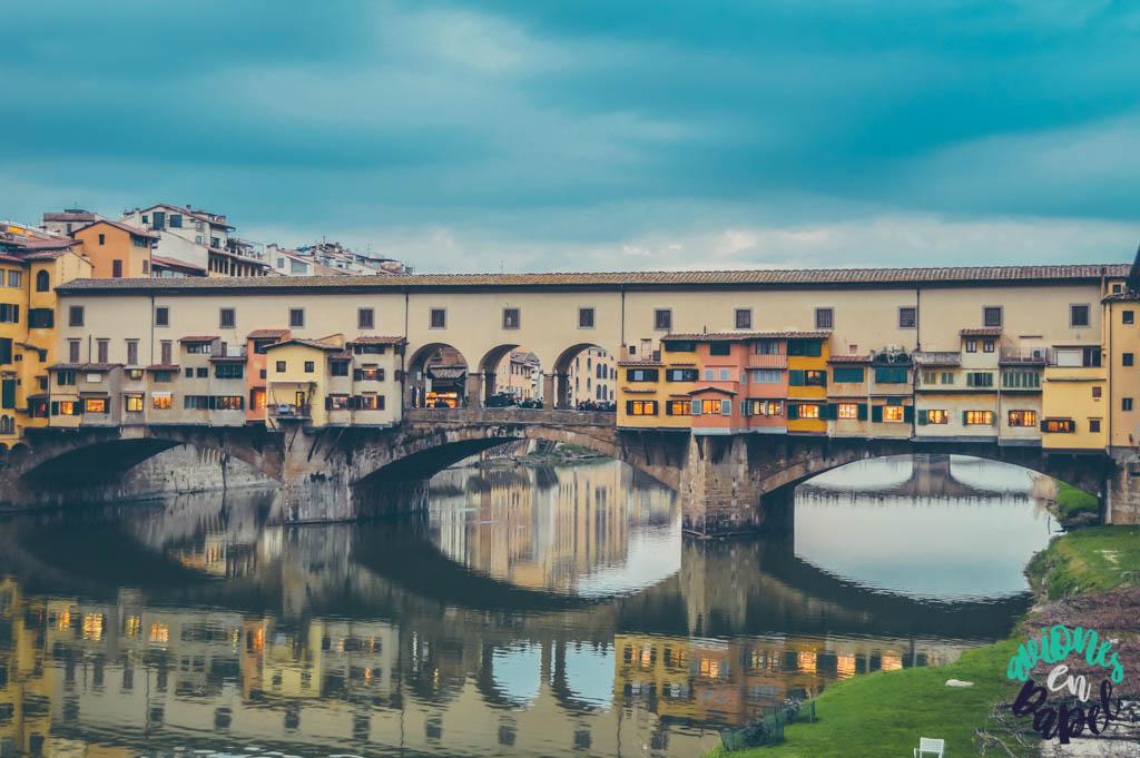 Ponte Vecchio. Qué ver y hacer en Florencia en 3 días