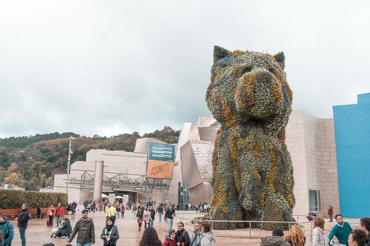 Qué ver en Bilbao: Perro Puppy