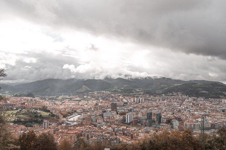 Qué ver en Bilbao: Mirado del Monte Artxanda