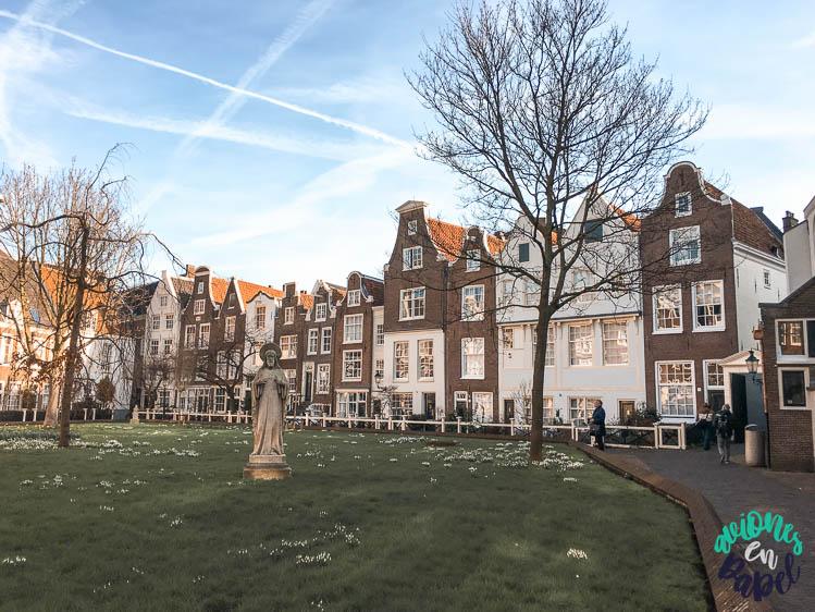Qué ver en Ámsterdam en 3 días - Begijnhof