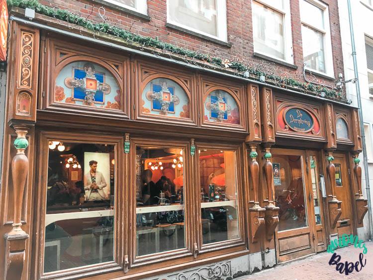 Coffeeshop The Dampkring, película Ocean's Twelve. Ámsterdam