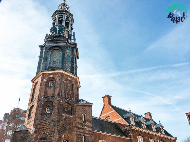 Munttoren (Casa de la Moneda), Ámsterdam