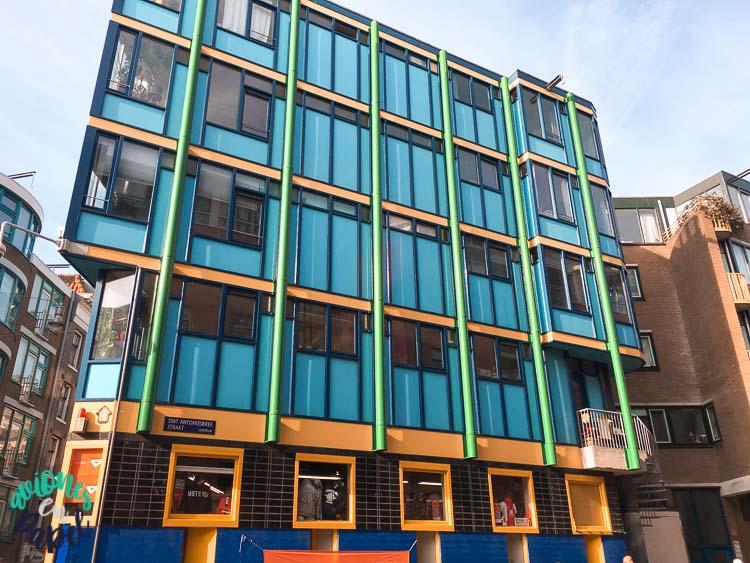 Arquitectura edificios del Barrio Judío, Ámsterdam