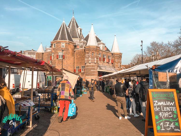 Niuewmarkt. Qué ver en Ámsterdam en 3 días