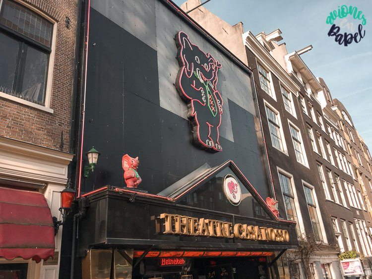 Casa Roso en el Barrio Rojo de Ámsterdam