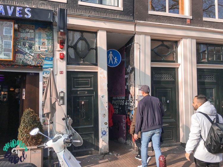 Trompettersteeg, la calle más estrecha de ÁmsterdamTrompettersteeg, la calle más estrecha de Ámsterdam
