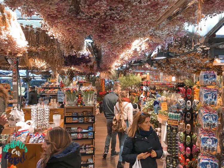 Mercado de las Flores. Qué ver en Ámsterdam en 3 días