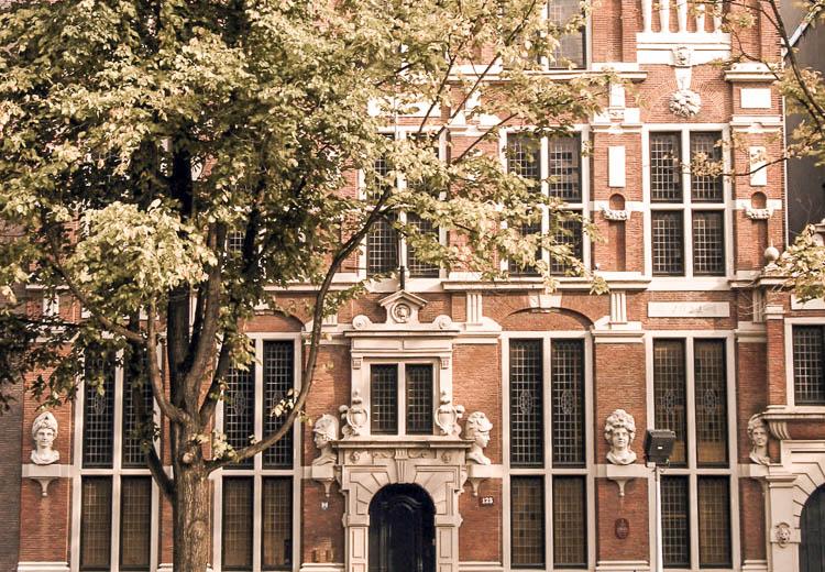 Casa de las Cabezas en el Canal Keizersgracht, Ámsterdam