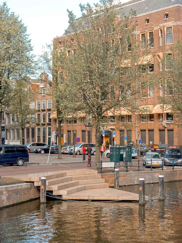 Homomonument en el Canal Keizersgracht, Ámsterdam