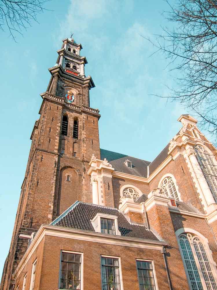 Qué ver en Ámsterdam en 3 días - Iglesia Westerkerk