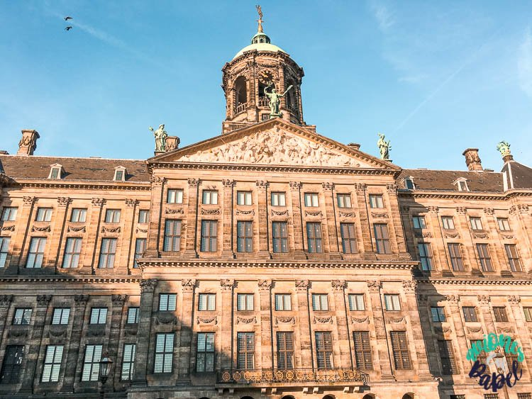 Palacio Real en la Plaza Dam, Ámsterdam