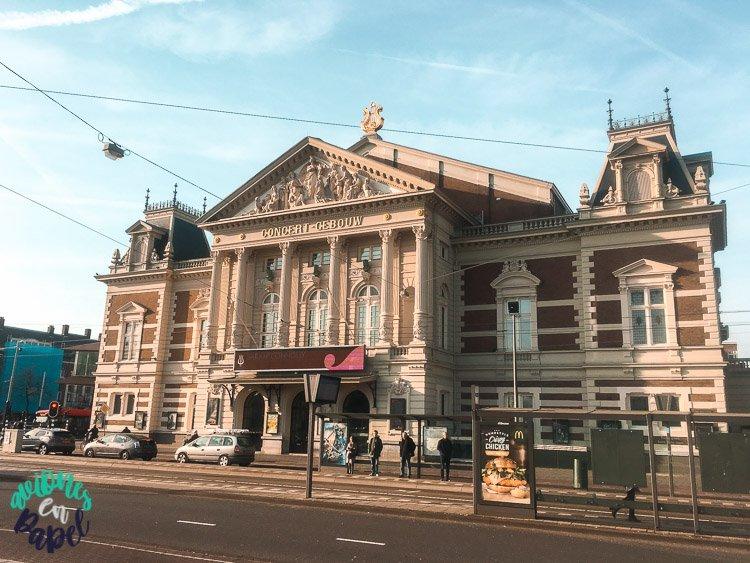 Sala de conciertos Concertgebouw, Ámsterdam
