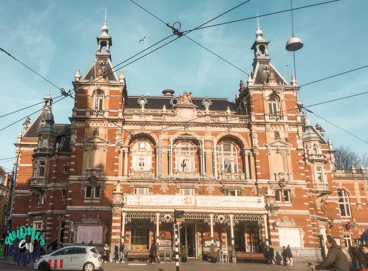 Stadsschouwburg (Teatro Municipal). Ámsterdam