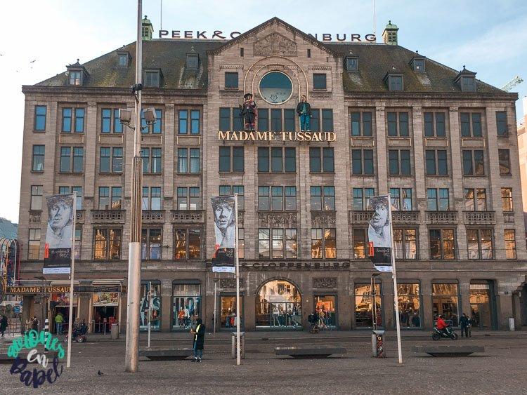 Museo Madame Tussauds en la Plaza Dam, Ámsterdam