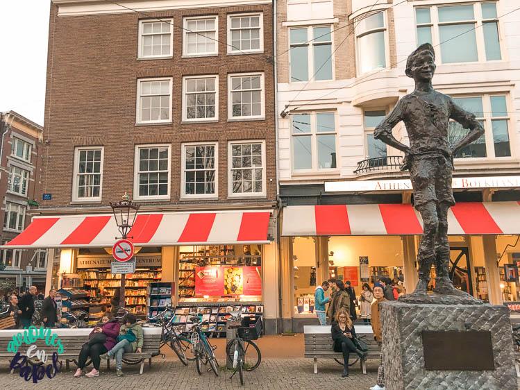 Plaza Spui. Qué ver en Ámsterdam en 3 días